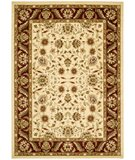 RugStudio presents Safavieh Lyndhurst LNH215A Ivory / Red Machine Woven, Better Quality Area Rug