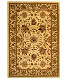 RugStudio presents Safavieh Lyndhurst LNH216A Creme / Creme Machine Woven, Good Quality Area Rug