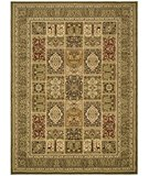 RugStudio presents Safavieh Lyndhurst LNH217A Green / Green Machine Woven, Good Quality Area Rug
