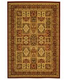 RugStudio presents Safavieh Lyndhurst LNH217B Red / Red Machine Woven, Good Quality Area Rug