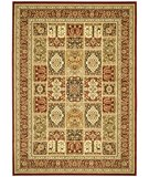 RugStudio presents Safavieh Lyndhurst LNH217B Multi / Red Machine Woven, Better Quality Area Rug