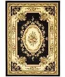 RugStudio presents Safavieh Lyndhurst LNH218A Black / Ivory Machine Woven, Good Quality Area Rug