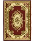 RugStudio presents Safavieh Lyndhurst LNH218C Red / Ivory Machine Woven, Good Quality Area Rug