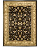 RugStudio presents Safavieh Lyndhurst LNH219A Black / Ivory Machine Woven, Better Quality Area Rug