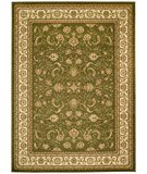 RugStudio presents Safavieh Lyndhurst LNH219B Sage / Ivory Machine Woven, Better Quality Area Rug