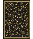 RugStudio presents Safavieh Lyndhurst LNH220A Black / Green Machine Woven, Good Quality Area Rug