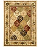 RugStudio presents Safavieh Lyndhurst LNH221A Multi / Ivory Machine Woven, Better Quality Area Rug