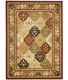 RugStudio presents Safavieh Lyndhurst LNH221B Multi / Red Machine Woven, Better Quality Area Rug