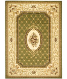 RugStudio presents Safavieh Lyndhurst LNH223A Sage / Ivory Machine Woven, Good Quality Area Rug