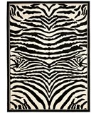 RugStudio presents Safavieh Lyndhurst LNH226A White / Black Machine Woven, Better Quality Area Rug