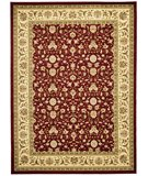 RugStudio presents Safavieh Lyndhurst LNH312A Red / Ivory Machine Woven, Better Quality Area Rug