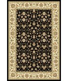 RugStudio presents Safavieh Lyndhurst LNH316B Black Machine Woven, Good Quality Area Rug