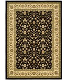 RugStudio presents Safavieh Lyndhurst LNH316B Black / Ivory Machine Woven, Better Quality Area Rug