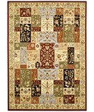 RugStudio presents Safavieh Lyndhurst LNH318A Multi / Ivory Machine Woven, Better Quality Area Rug