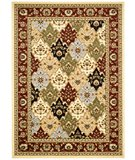 RugStudio presents Safavieh Lyndhurst LNH320A Multi / Red Machine Woven, Better Quality Area Rug