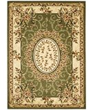 RugStudio presents Safavieh Lyndhurst LNH328B Sage / Ivory Machine Woven, Better Quality Area Rug