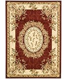 RugStudio presents Safavieh Lyndhurst LNH328C Red / Ivory Machine Woven, Better Quality Area Rug