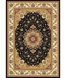 RugStudio presents Safavieh Lyndhurst LNH329A Black / Ivory Machine Woven, Better Quality Area Rug