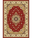 RugStudio presents Safavieh Lyndhurst LNH329C Red / Ivory Machine Woven, Better Quality Area Rug