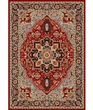 RugStudio presents Safavieh Lyndhurst LNH330B Red / Black Machine Woven, Better Quality Area Rug