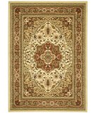 RugStudio presents Safavieh Lyndhurst LNH330R Ivory / Rust Machine Woven, Better Quality Area Rug