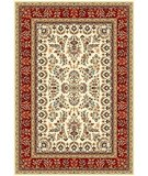 RugStudio presents Safavieh Lyndhurst LNH331A Ivory / Red Machine Woven, Better Quality Area Rug