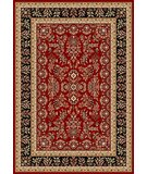 RugStudio presents Safavieh Lyndhurst LNH331B Red / Black Machine Woven, Better Quality Area Rug