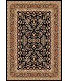 RugStudio presents Safavieh Lyndhurst LNH331D Black / Tan Machine Woven, Better Quality Area Rug