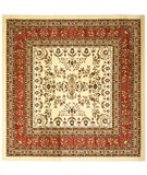 RugStudio presents Safavieh Lyndhurst LNH331R Ivory / Rust Machine Woven, Good Quality Area Rug