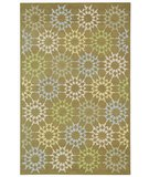 RugStudio presents Martha Stewart Block Quilt MSR1843F PEBBLE / GREY Hand-Hooked Area Rug