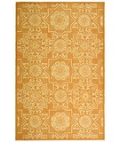 RugStudio presents Martha Stewart by Safavieh MSR2311A CAMEL Hand-Hooked Area Rug