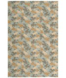 RugStudio presents Martha Stewart Meadow MSR2320A SKY BLUE Hand-Hooked Area Rug