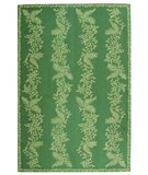 RugStudio presents Martha Stewart Fern Row MSR2321A TARRAGON / GREEN Hand-Hooked Area Rug