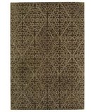 RugStudio presents Martha Stewart Strolling Garden MSR3258C COFFEE / BROWN Hand-Tufted, Best Quality Area Rug