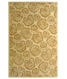 RugStudio presents Martha Stewart Geranium Leaf MSR3260J HAZLENUT / GOLD Hand-Tufted, Best Quality Area Rug