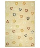 RugStudio presents Martha Stewart Garland MSR3267A BLUSH / BEIGE Hand-Tufted, Best Quality Area Rug
