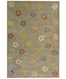 RugStudio presents Martha Stewart Garland MSR3267B PEARL / GREY Hand-Tufted, Best Quality Area Rug