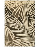RugStudio presents Martha Stewart Palms MSR3268A COCONUT / BROWN Hand-Tufted, Best Quality Area Rug