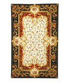 RugStudio presents Safavieh Naples NA508A Ivory / Black Hand-Tufted, Best Quality Area Rug