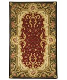 RugStudio presents Safavieh Naples NA508C Red / Green Hand-Tufted, Best Quality Area Rug