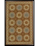 RugStudio presents Safavieh Naples NA513A Ivory / Brown Hand-Tufted, Best Quality Area Rug