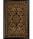 RugStudio presents Safavieh Naples NA514B Black / Gold Hand-Tufted, Best Quality Area Rug