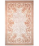 RugStudio presents Safavieh Naples NA702A Ivory / Gold Hand-Tufted, Good Quality Area Rug