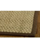 RugStudio presents Safavieh Natural Fiber NF114B Natural / Brown Sisal/Seagrass/Jute Area Rug