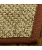 RugStudio presents Safavieh Natural Fiber NF114D Natural / Red Sisal/Seagrass/Jute Area Rug