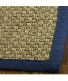 RugStudio presents Safavieh Natural Fiber NF114E Natural / Blue Sisal/Seagrass/Jute Area Rug