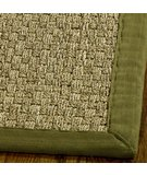 RugStudio presents Safavieh Natural Fiber NF114G Natural / Olive Sisal/Seagrass/Jute Area Rug