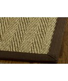 RugStudio presents Safavieh Natural Fiber NF115B Natural / Brown Sisal/Seagrass/Jute Area Rug