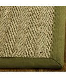RugStudio presents Safavieh Natural Fiber NF115G Natural / Olive Sisal/Seagrass/Jute Area Rug