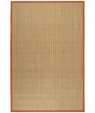 RugStudio presents Safavieh Natural Fiber NF442B Red Sisal/Seagrass/Jute Area Rug